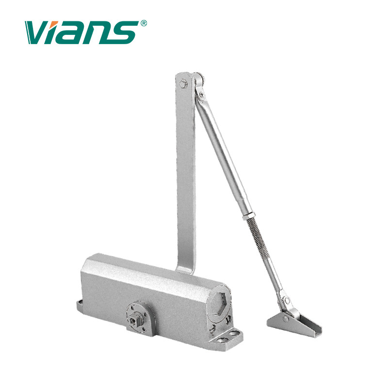 Aluminum Alloy Industrial Door Closer , Heavy Duty Door Closer For Fire Doors Max 80KG